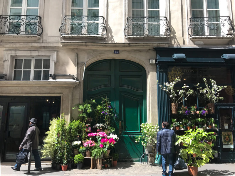 Paris Side Streets Summer