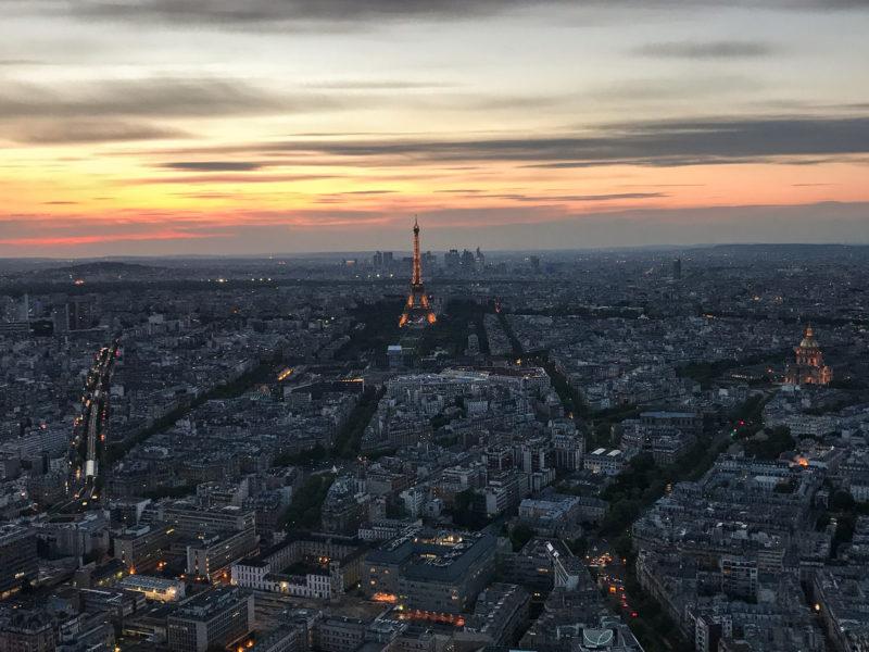 Views from Tour Montparnasse