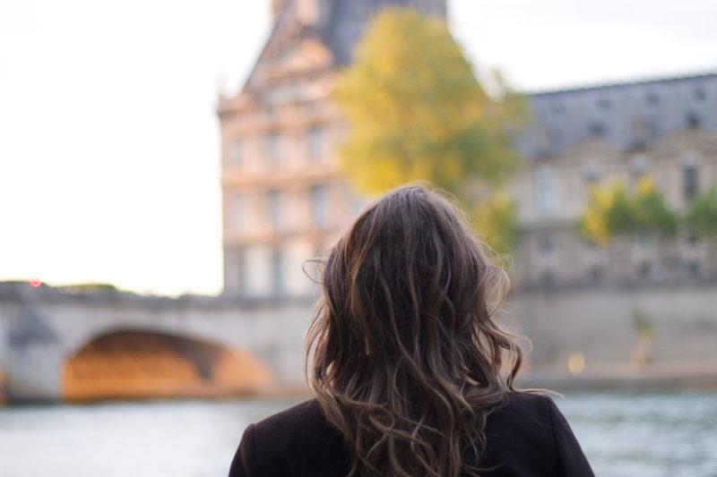 Seine River Louvre
