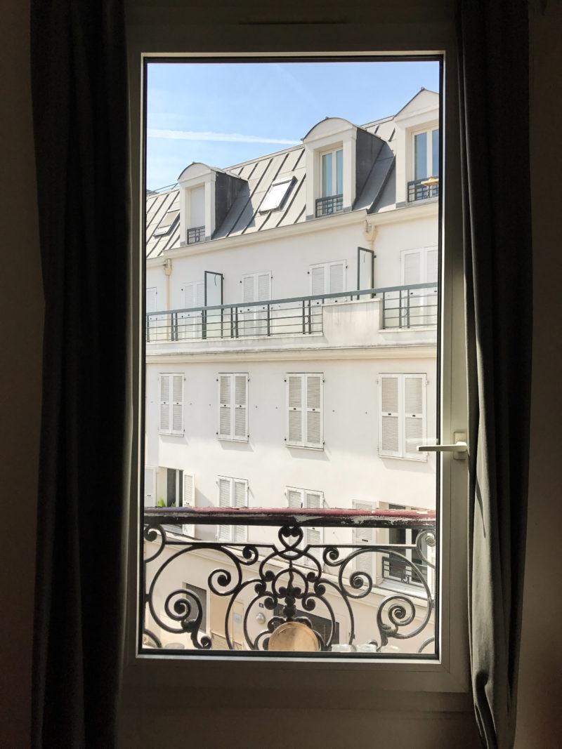 View from our Paris Air B&B