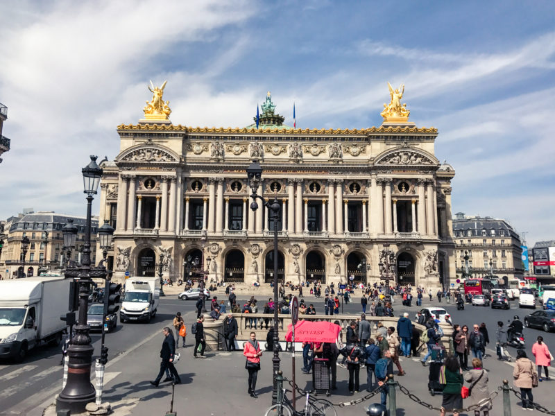 Opera Garnier Exteior