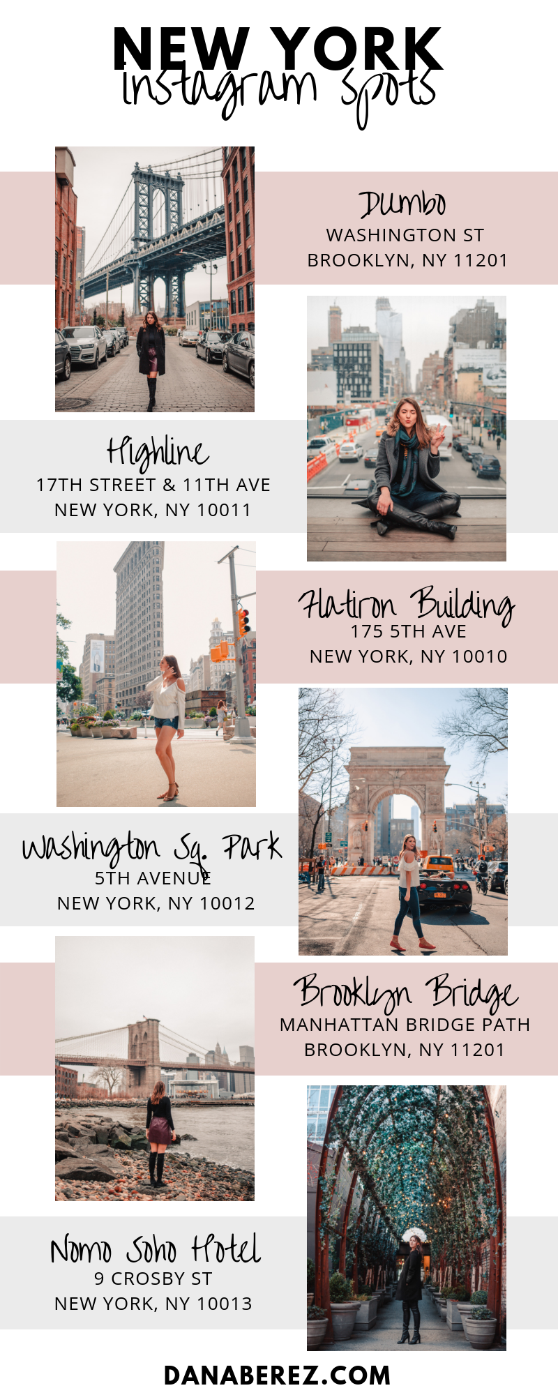 The Best NYC Instagram Spots | 10 Shots You Need to Up Your
